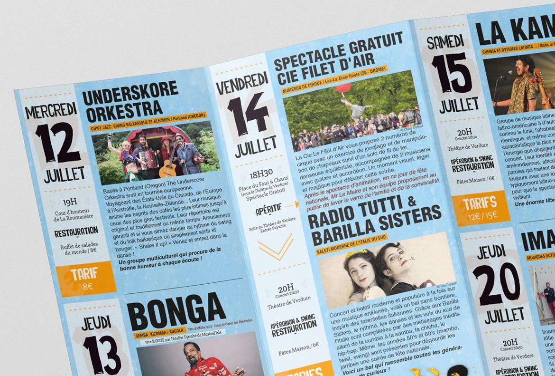 flyer communication festival robion