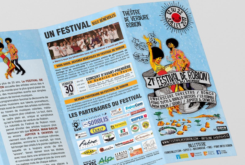 communication evenement festival robion