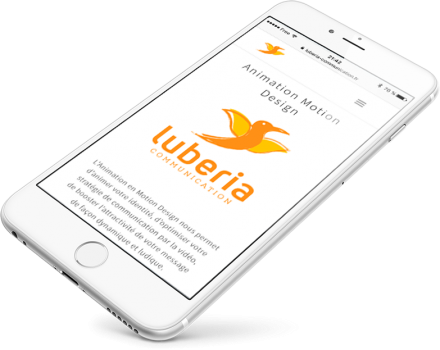 Creer un site web mobile avec Luberia Communication
