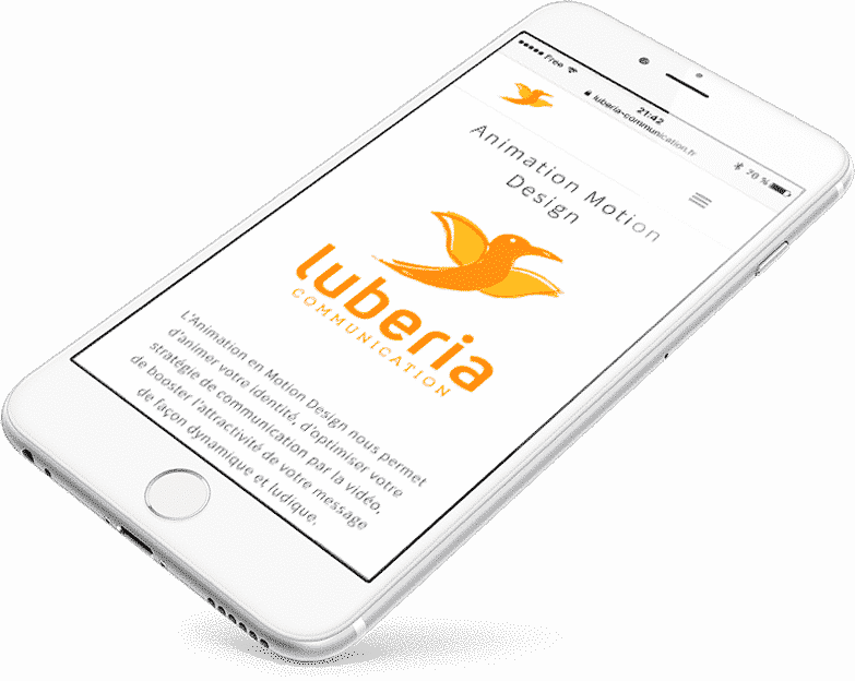 Creer un site web mobile avec Luberia Communication