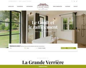 Création de site web pour chambres d'hôtes et location de vacances