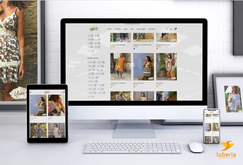 Créer un site e-commerce prêt-à-porter